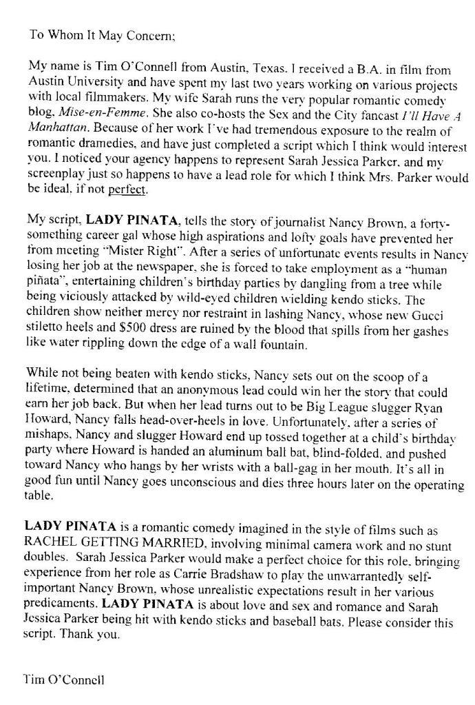 Lady Pinata