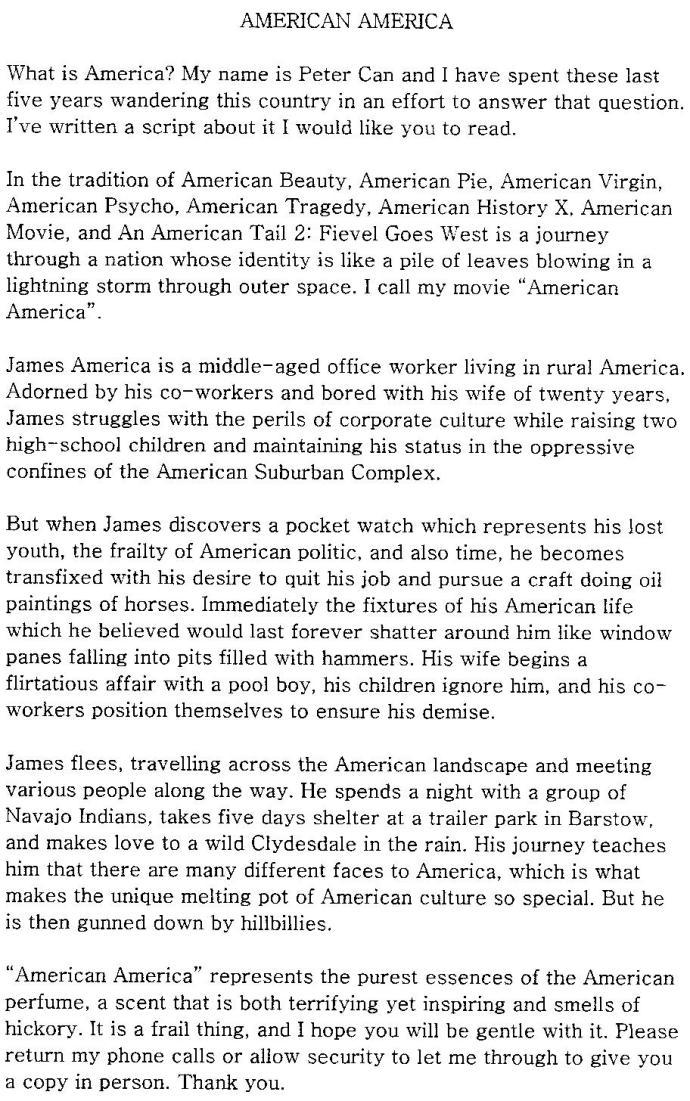 American America