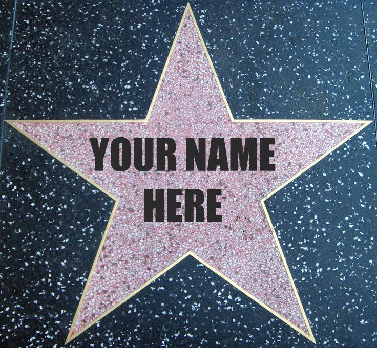 Hollywood Walk Of Fame Star Clip Art | galleryhip.com - The Hippest ...