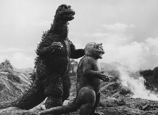 godzilla and son